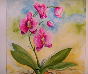 Orchid by Joan Maguire