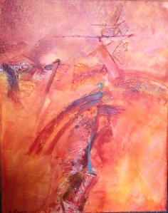 Sundance by Ann Lawson, Mixed Media on canvas