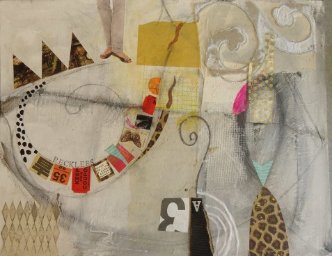 mixed media collage by Susan Davitti Darling